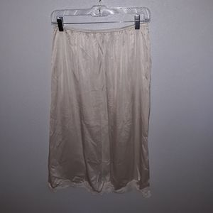 Vintage Adonna half slip with lace size large
